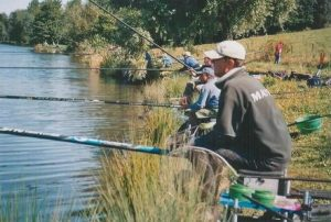 Partie de pêche @ Etang de pêche de Rosheim   Grendelbruch   Grand Est   France